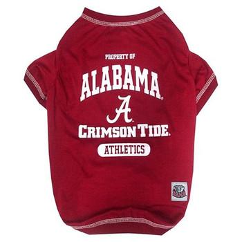 Alabama Crimson Tide Pet Tee Shirt