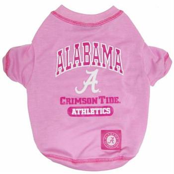 Alabama Pink Dog Tee Shirt