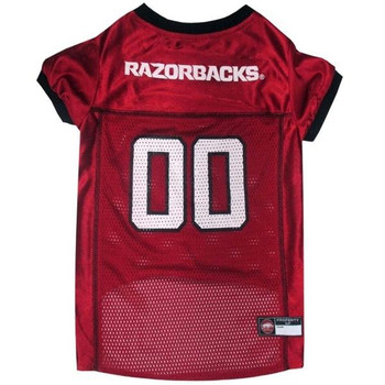Arkansas Razorbacks Pet Jersey