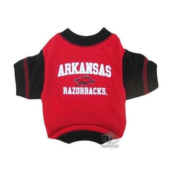 Arkansas Razorbacks Pet T-Shirt