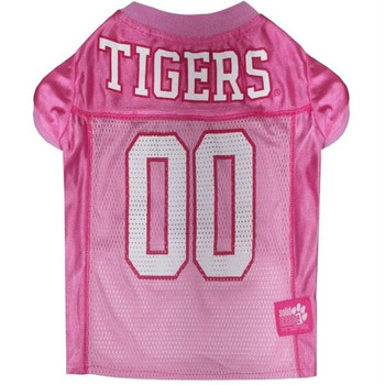 Clemson Tigers Pink Pet Jersey