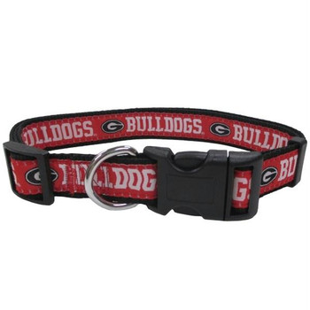 Georgia Bulldogs Pet Collar