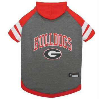 Georgia Bulldogs Pet Hoodie T-Shirt