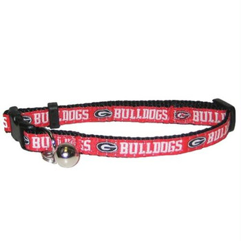 Georgia Bulldogs Breakaway Cat Collar