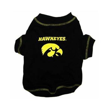 Iowa Hawkeyes Dog Tee Shirt - PFIA1768-0001