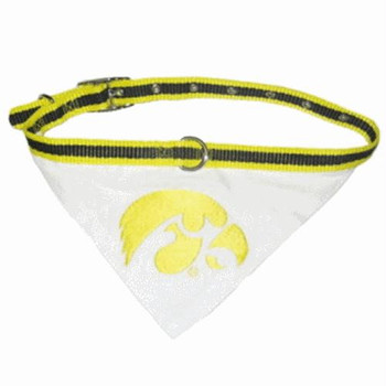 Iowa Hawkeyes Collar Bandana