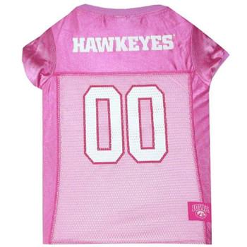 Iowa Hawkeyes Pink Pet Jersey