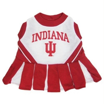 Indiana Hoosiers Cheerleader Pet Dress