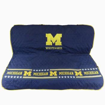 Michigan Wolverines Pet Car Seat Cover