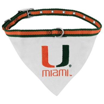 Miami Hurricanes Collar Bandana