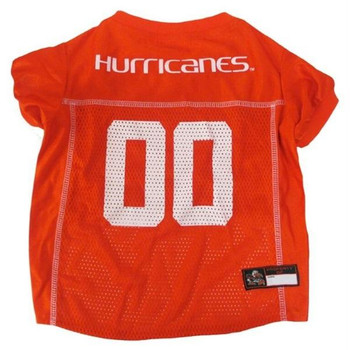 Miami Hurricanes Pet Jersey