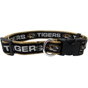 Missouri Tigers Pet Collar