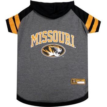 Missouri Tigers Pet Hoodie T-Shirt