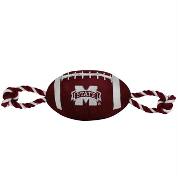 Mississippi State Bulldogs Pet Nylon Football