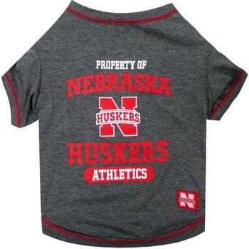 Nebraska Huskers Pet Tee Shirt