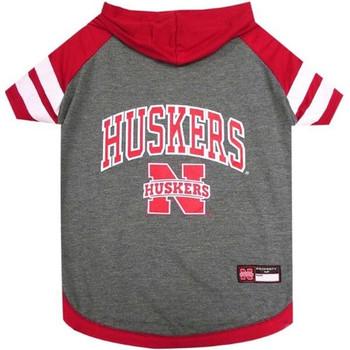 Nebraska Huskers Pet Hoodie T-Shirt