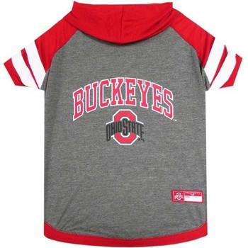 Ohio State Buckeyes Pet Hoodie T-Shirt