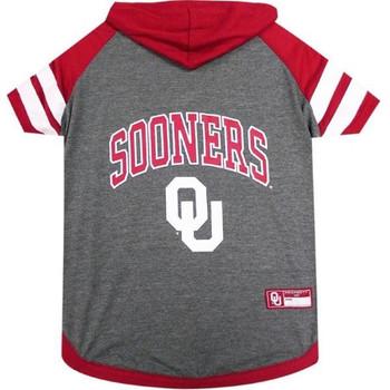 Oklahoma Sooners Pet Hoodie T-Shirt