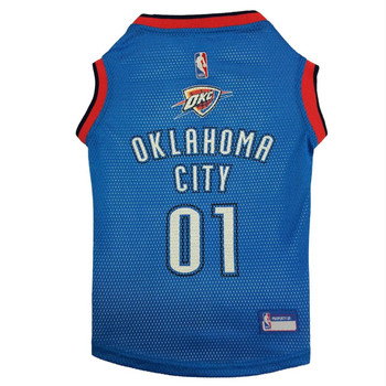 Oklahoma City Thunder Pet Jersey - XL