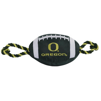 Oregon Ducks Pet Nylon Football