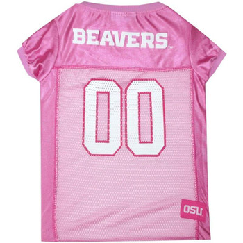 Oregon State Beavers Pink Pet Jersey