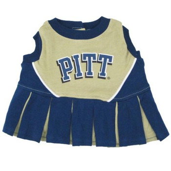 Pittsburgh Panthers Cheerleader Pet Dress