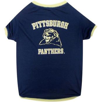Pittsburgh Panthers Pet T-Shirt