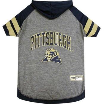 Pittsburgh Panthers Pet Hoodie T-Shirt