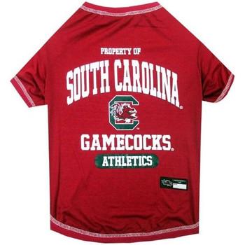 South Carolina Gamecocks Pet Tee Shirt