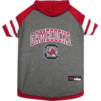 South Carolina Gamecocks Pet Hoodie T-Shirt