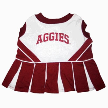 Texas A&M Cheerleader Dog Dress