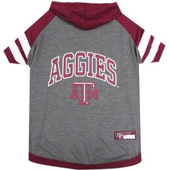 Texas A&M Aggies Pet Hoodie T-Shirt