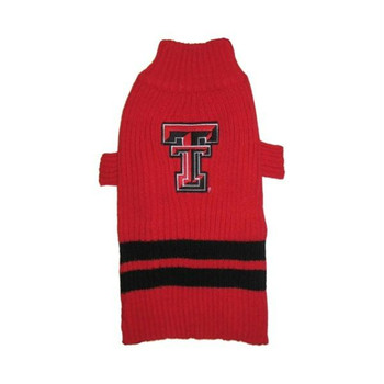 Texas Tech Red Raiders Dog Sweater