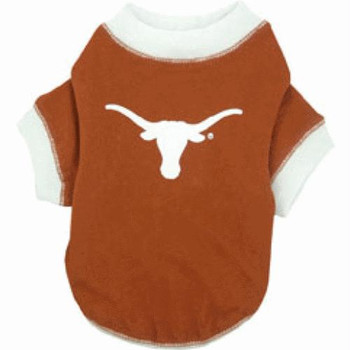 Texas Longhorns Dog Tee Shirt - PFTX405-0001