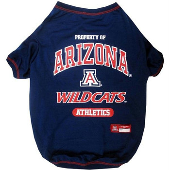 Arizona Wildcats Pet T-Shirt