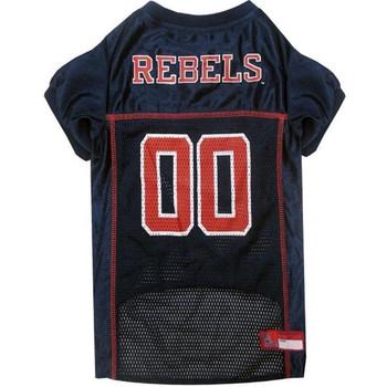 Ole Miss Rebels Pet Jersey - pfum4006-0001