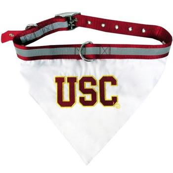 USC Trojans Pet Collar Bandana