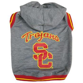 USC Trojans Pet Hoodie Sweatshirt