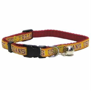 USC Trojans Breakaway Cat Collar