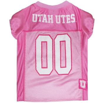 Utah Utes Pink Pet Jersey