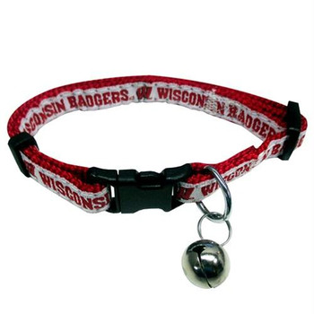 Wisconsin Badgers Breakaway Cat Collar