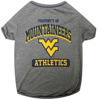 West Virginia Mountaineers Pet Tee Shirt