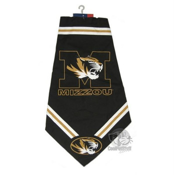 Missouri Tigers Dog Bandana