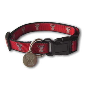 Texas Tech Red Raiders Reflective Dog Collar