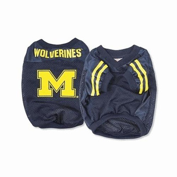 Michigan Wolverines Dog Jersey - Alternate Style