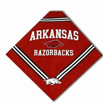 Arkansas Dog Bandana