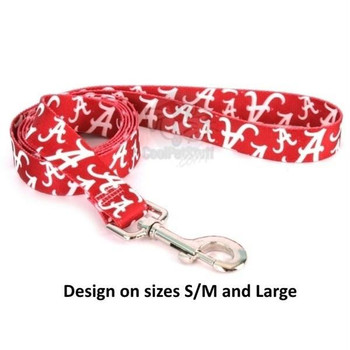 Alabama Crimson Tide Nylon Leash