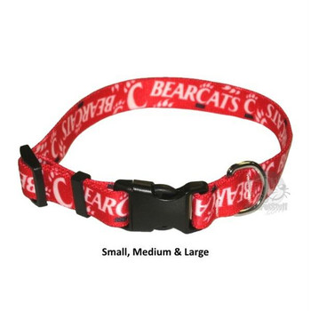 Cincinnati Bearcats Nylon Collar