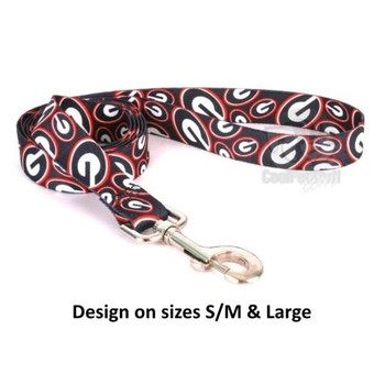 Georgia Bulldogs Nylon Leash