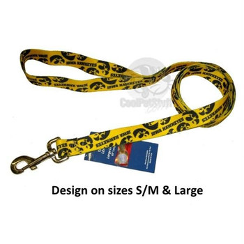 Iowa Hawkeyes Nylon Leash